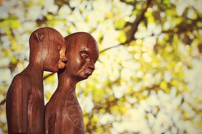 Кенийские статуэтки - фото