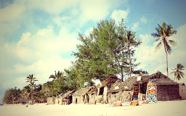 Танзания - небольшая деревня