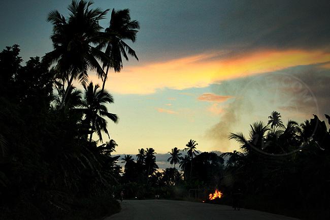 Закат - остров Занзибар - фото