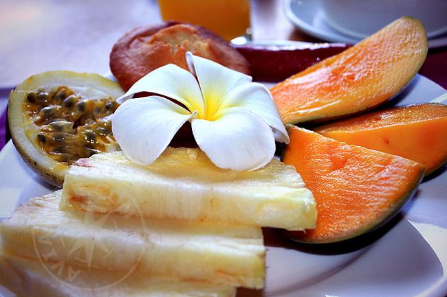 Меню - питание в ресторане отеля Bluebay beach resort