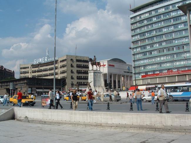 Улицы Анкары, Турция, фото