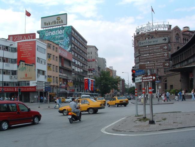 Турция, улицы Анкары, фото escapade67.free.fr