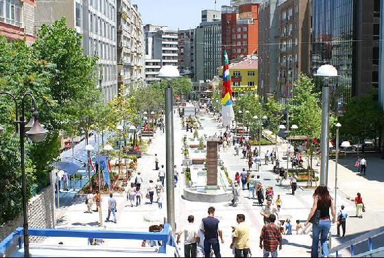Турция, улицы Анкары, фото