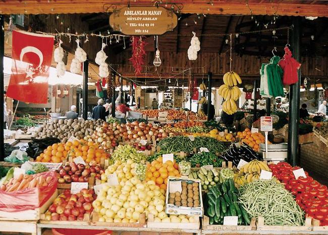 Фетхие, базар фото