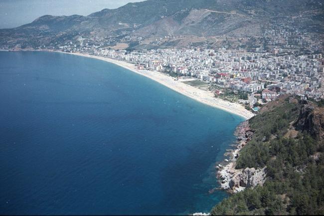 Берег Алании с высоты, фото