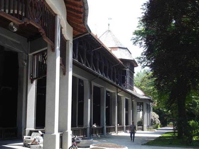 Бавария - Бад Райхенхаль - Градиеверк (соляной фонтан - открытый ингаляторий)
