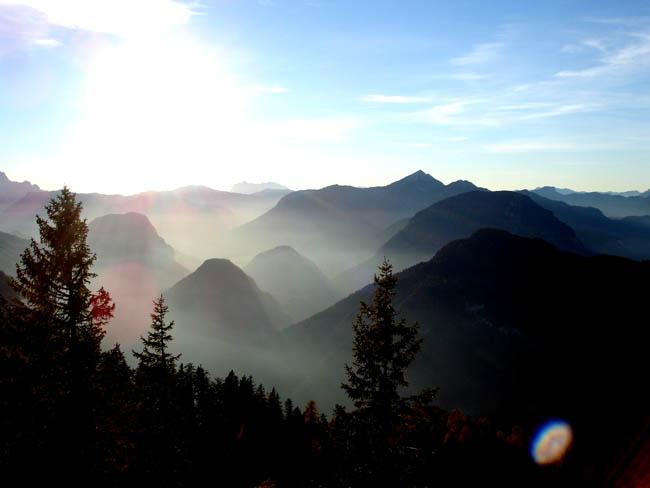 Бавария - Бад Райхенхаль - рассвет