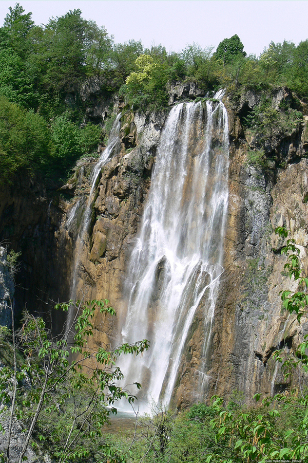 Хорватия, водопад фото flickr.com