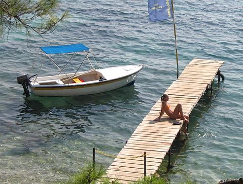 Побережье Хорватии, фото