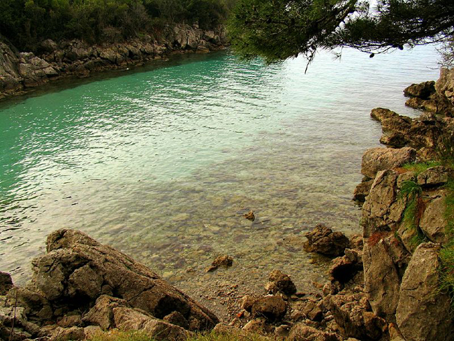 Берег Хорватии, фото flickr.com