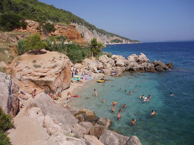 Пляжи Хорватии, фото