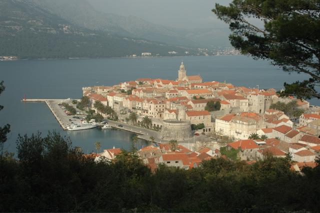 Корчула, фото Хорватии