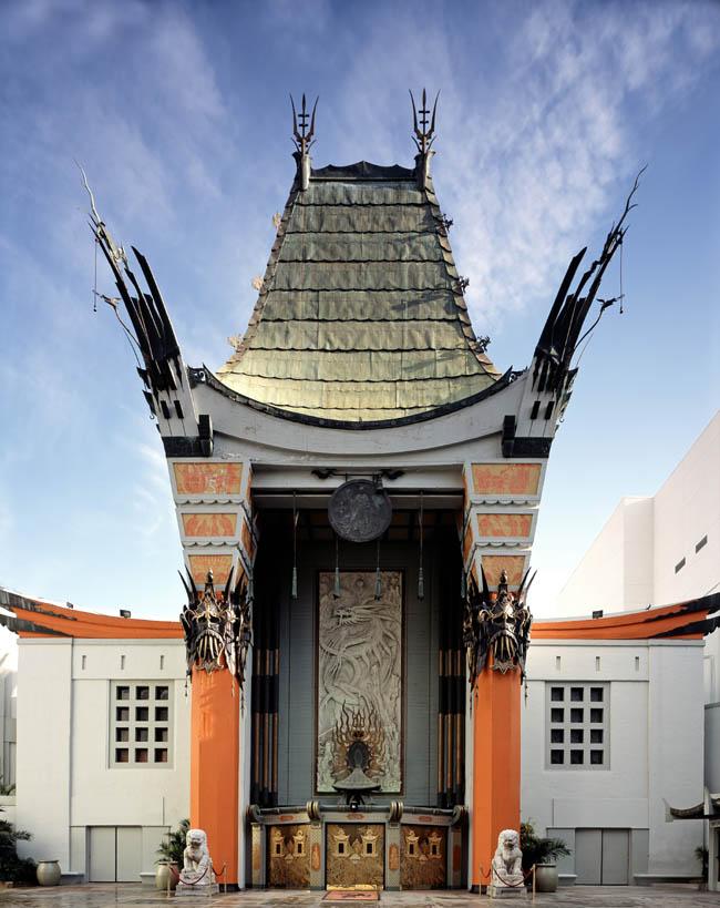 Голливуд - Бульвар Голливуд - Вход в Китайский Театр Громана.