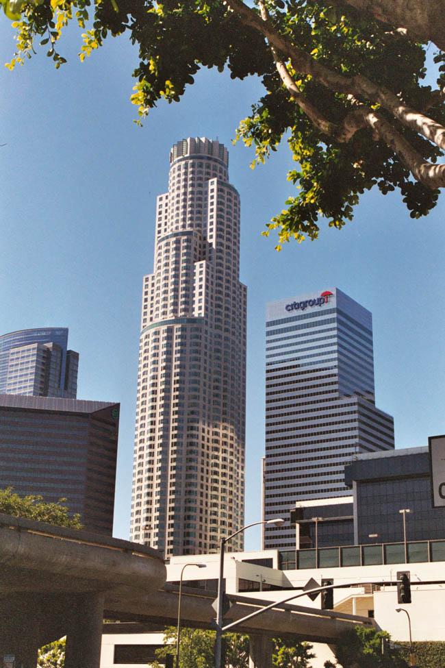 Лос-Анджелес - Деловой центр - U.S. Bank Tower