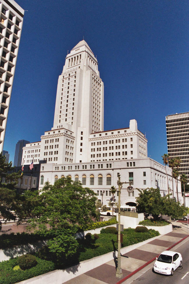 Лос-Анджелес - Городская Ратуша