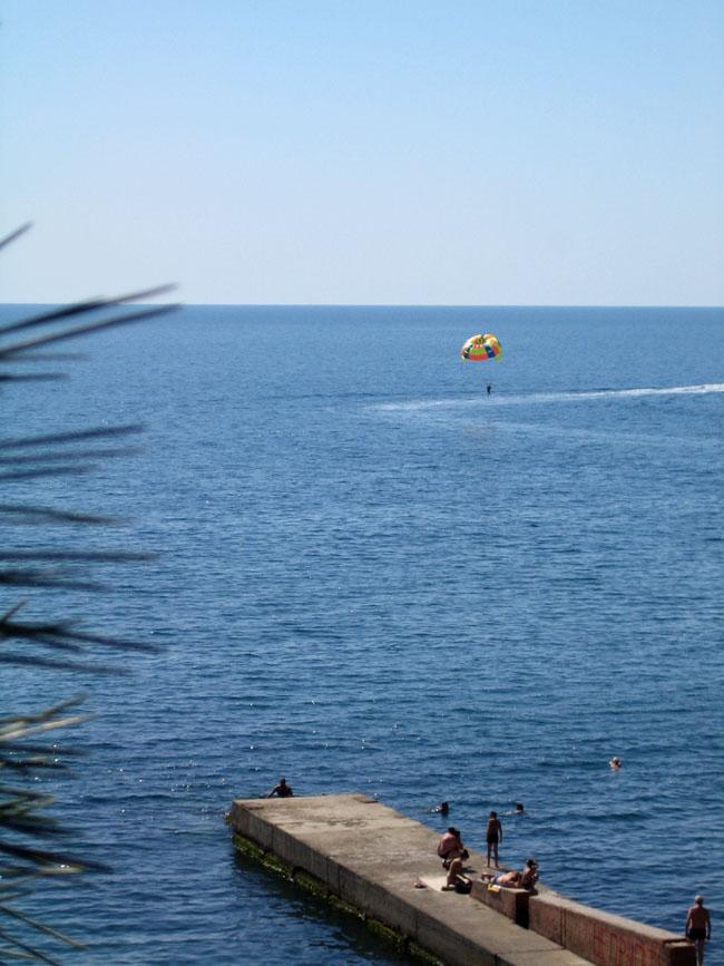 Алушта - берег моря