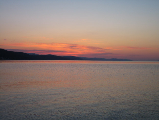 Алушта - Крым - рассвет
