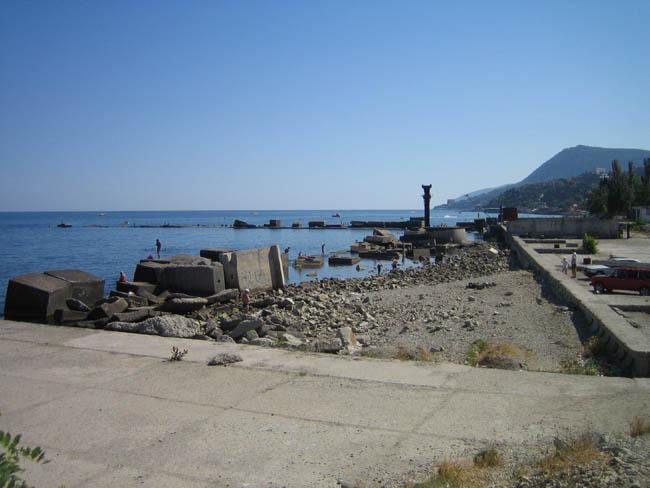 Алушта - дикий пляж