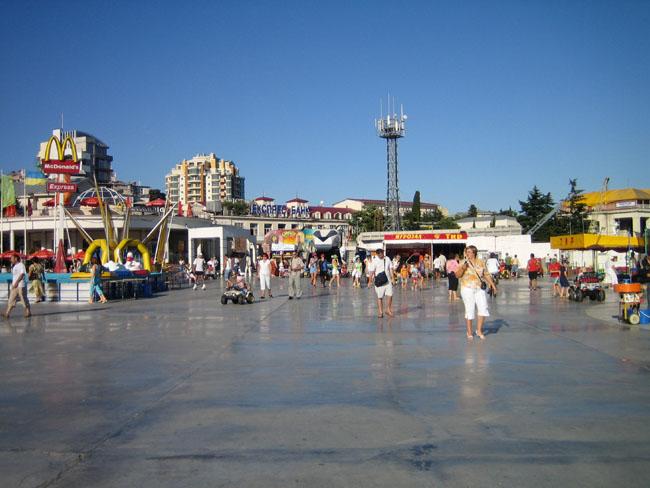 Крым, Ялта, побережье фото