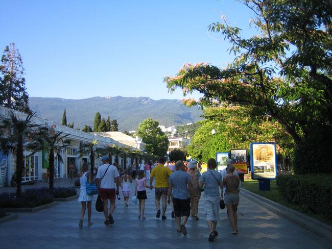 Крым, Ялта - набережная