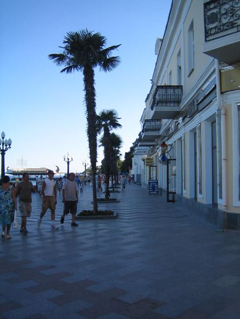 Крым- Ялта - набережная