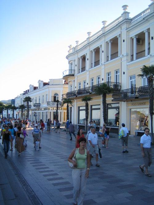 Крым - Ялта - набережная