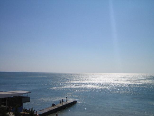 Крым - утро в Крыму - море