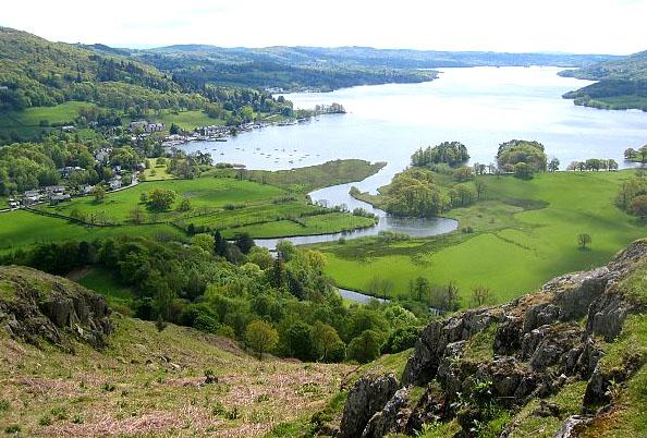 Великобритания (Англия) - Bowness - озеро Windermere