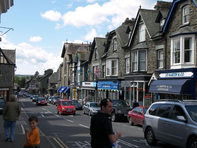 Великобритания (Англия) - Bowness - улочки города