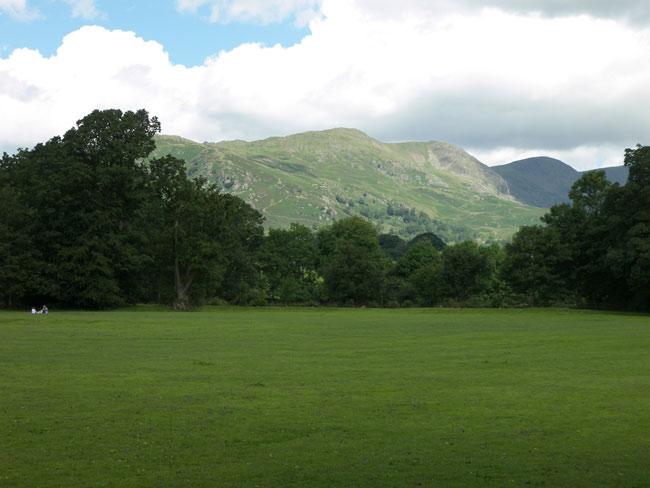 Великобритания (Англия) - Камбрия -Ambleside - вид на горы