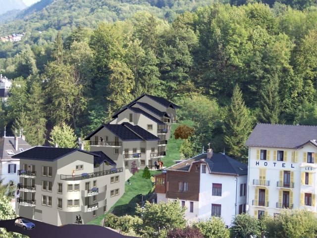Брид-ле-Бэн - горнолыжный курорт Франции