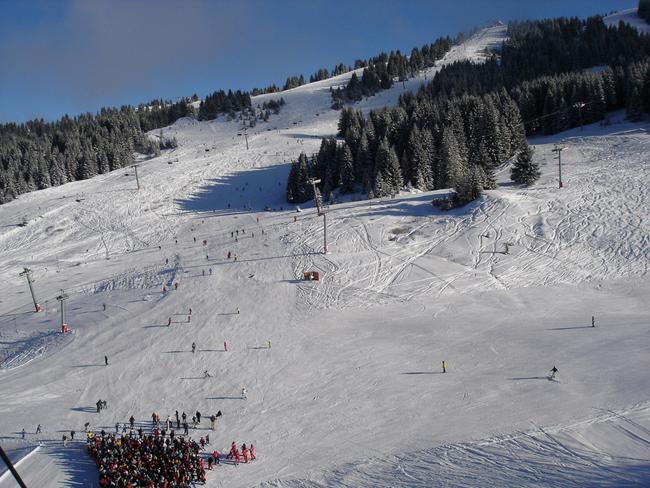 Ле Же - горнолыжный курорт Франции