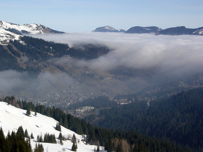 Ле Же - горнолыжный курорт Франции, фото flickr.com