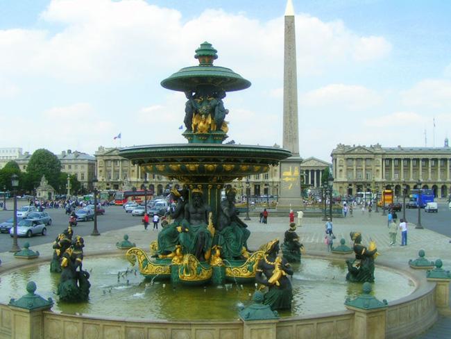 Франция париж площадь согласия