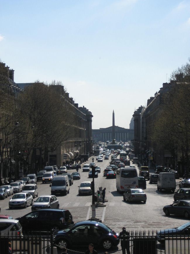 Франция - Париж - Площадь Согласия - фото flickr.com