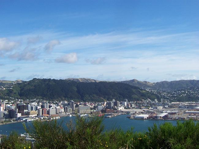Веллингтон - центр Новой Зеландии, фото flickr.com