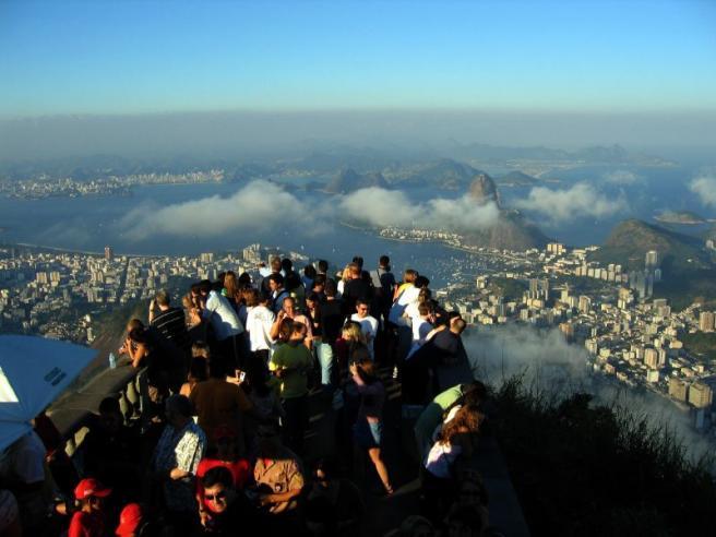 Рио-де-Жанейро - Вид на город с обзорной площадки