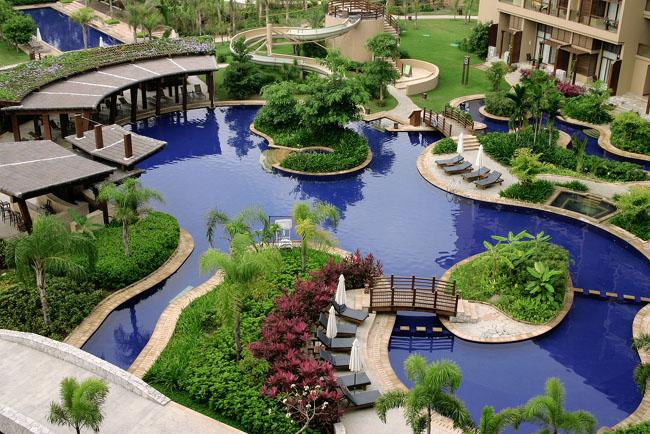 Бали - один из отелей с аквапарком