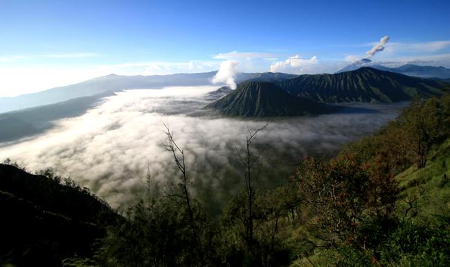 Остров Ява, вулканы, фото