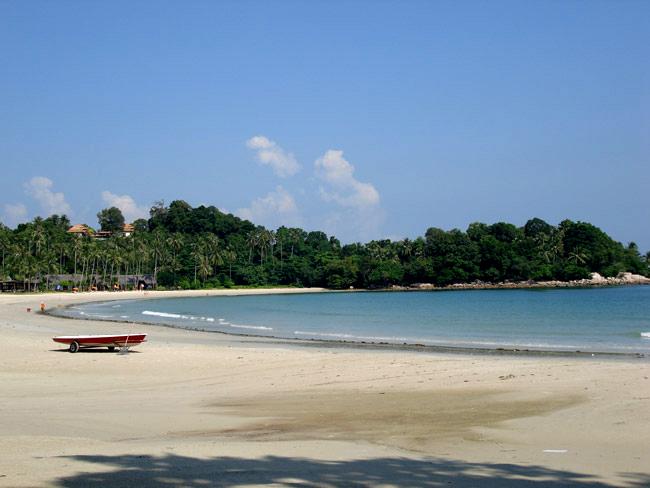 Пляж на Бинтане, фото