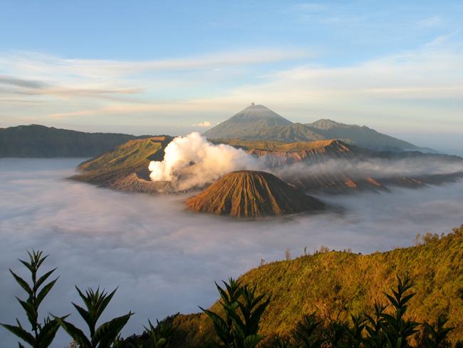 Остров Ява, вулканы, фото flickr.com