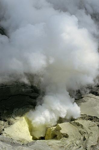 Бромо - кратер вулкана, фото