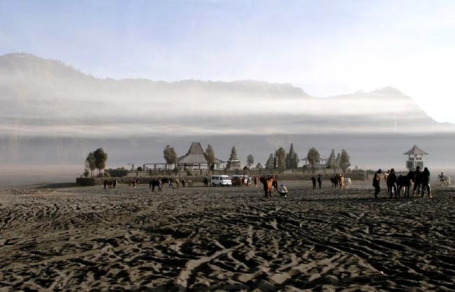 Горы острова Ява, Индонезия - фото flickr.com