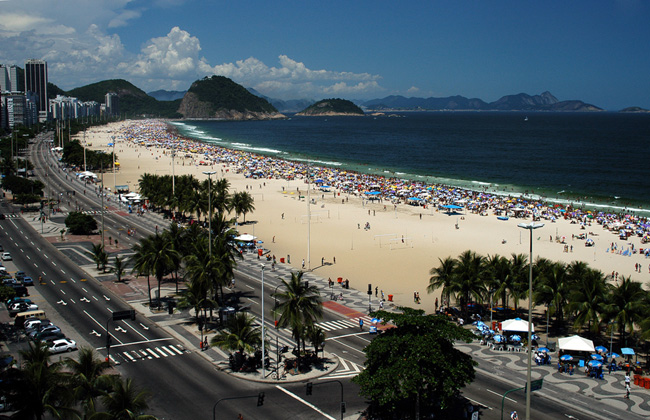 Пляжи Рио-де-Жанейро - фото