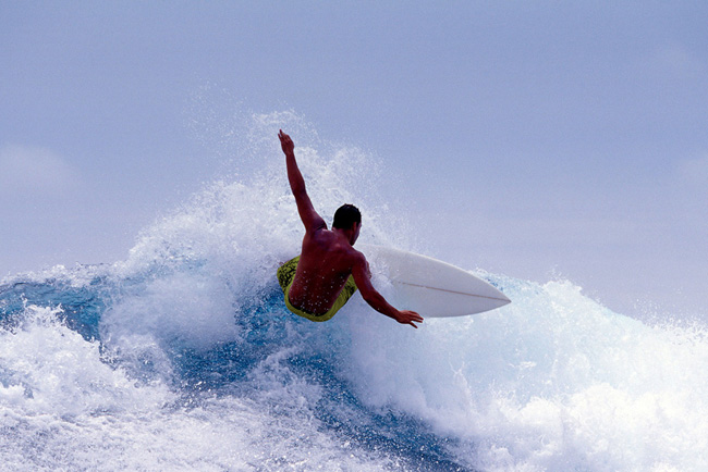 Серфинг на Острове Суматра, Индонезия, фото