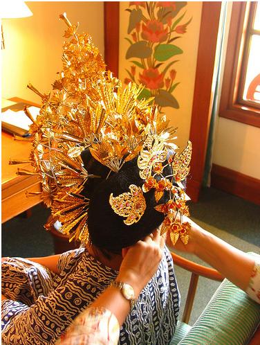 Свадьба на Бали, наряд невесты, фото