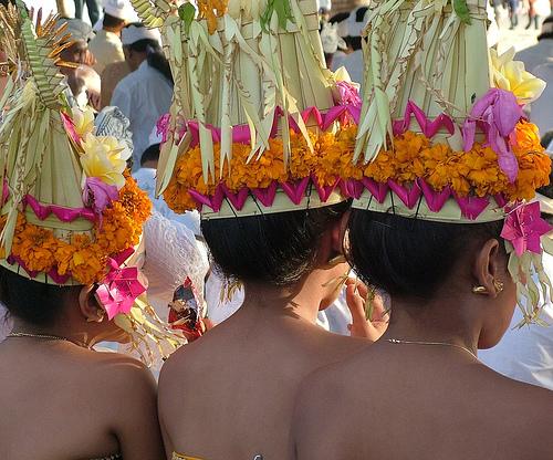 Бали: национальный костюм