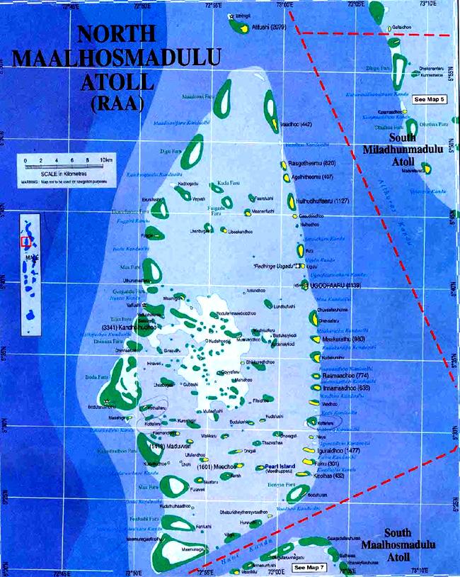 Мальдивы - фото Раа - карта - flickr.com