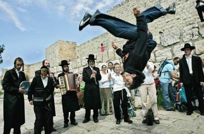 И такое бывает в Иерусалиме :)