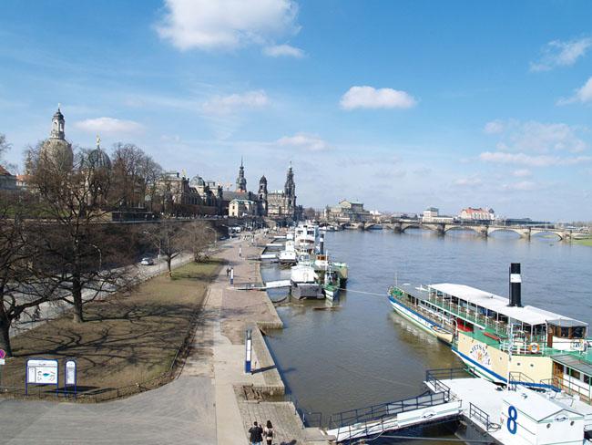 Дрезден германия улицы мосты фото
